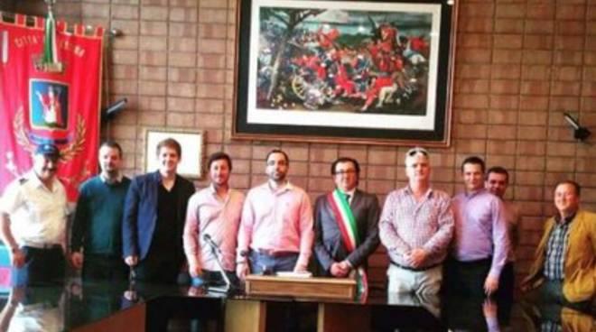 Delegazione ungherese in visita a Pescina