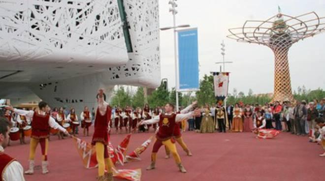 Expo: Cina e Giappone si innamorano della Giostra Cavalleresca di Sulmona