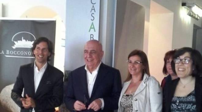 Expo: Galliani 'assaggia' l'Abruzzo