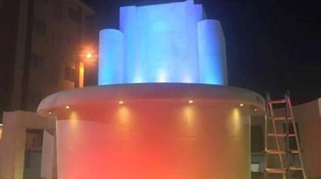 Fontana Luminosa, emozioni cromatiche