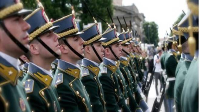 Guardia di Finanza, quattro abruzzesi giurano a Bergamo