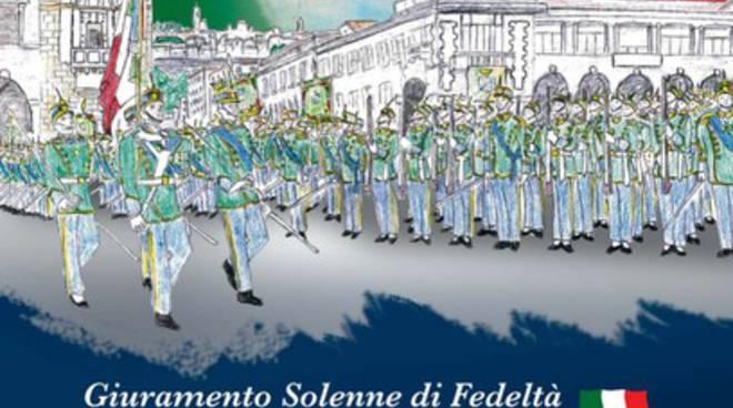Guardia di Finanza, tre aquilani giurano a Bergamo
