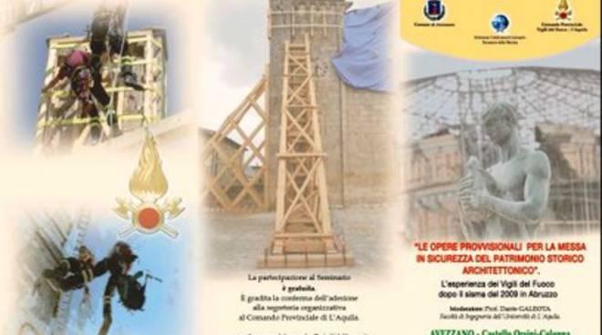I Vigili del Fuoco raccontano L'Aquila nel 2009