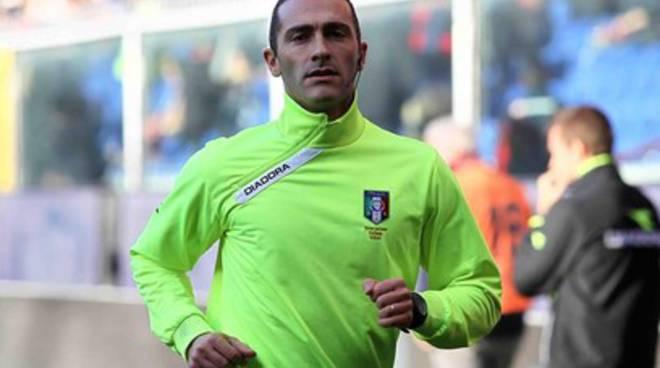 L'arbitro avezzanese Di Paolo (ri)conquista la serie A