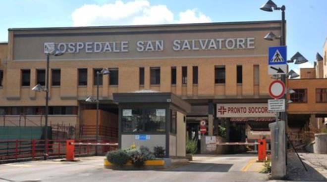 Manifestazione operatori CUP Ospedale L'Aquila