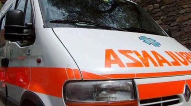 Moto contro camion, un ferito ad Avezzano