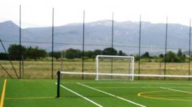 Nuovo impianto sportivo a Pescina
