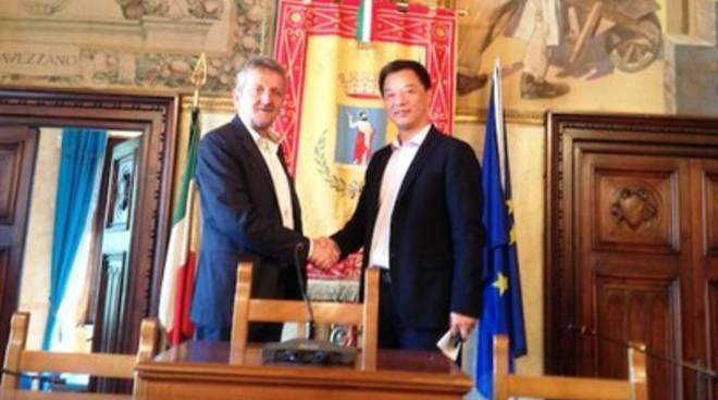 Prevenzione sisma & protezione civile, Cina ad Avezzano