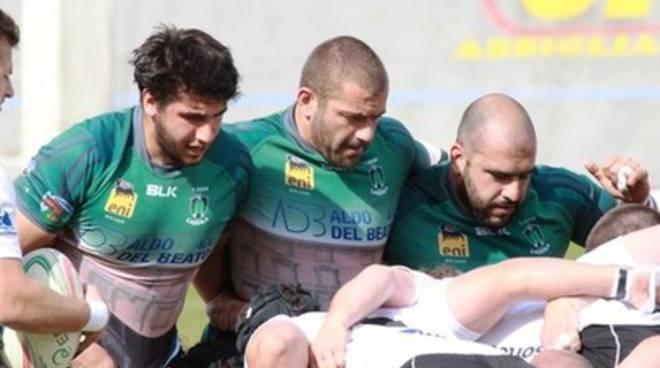 Rugby, L'Aquila vs Petrarca Padova