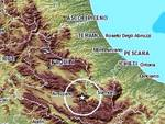 Terremoti, lieve scossa nella Marsica