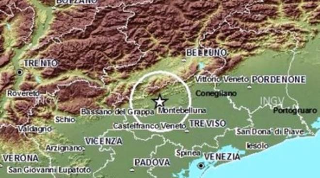 Terremoti, scossa 3.5 nel Nord Italia