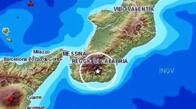 Terremoti: scossa 3.8 a Reggio Calabria