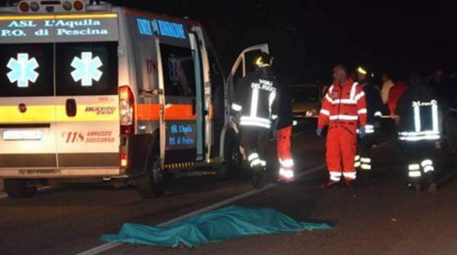Tragedia nella Marsica, 15enne muore in un incidente