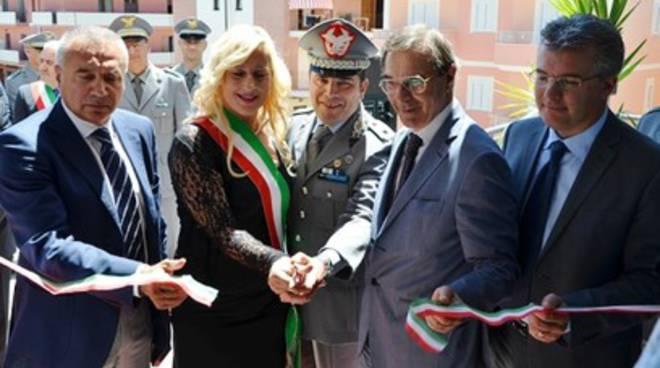 Alba Adriatica, sede tutta nuova per gli agenti in verde scuro