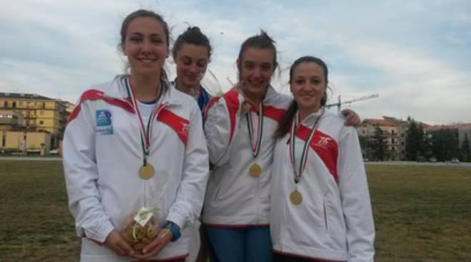 Campionati regionali. L'Atletica L'Aquila  conquista tre ori e tre bronzi