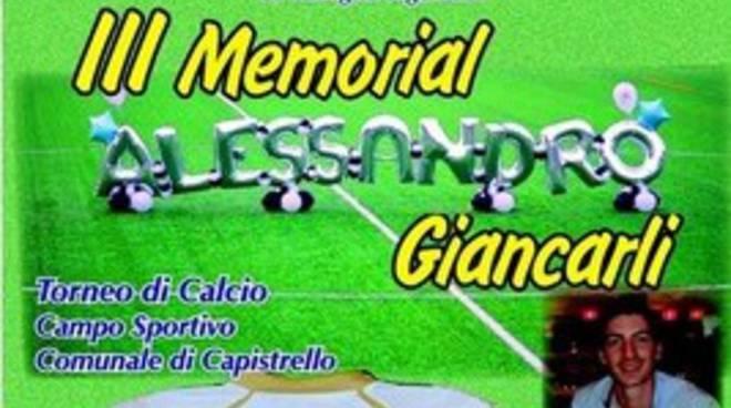 III Memorial 'Alessandro Giancarli' a Capistrello