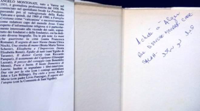 Il libro di Dario Spallone in un'antica libreria di Algeri