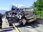 Incidente sulla Superstrada del Liri, una vittima