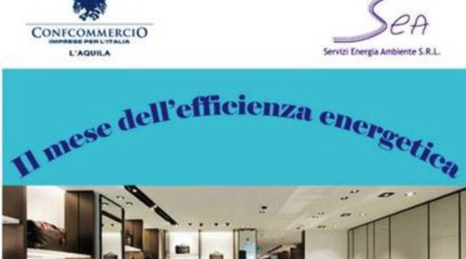 L'Aquila, al via 'Mese dell'efficienza energetica'