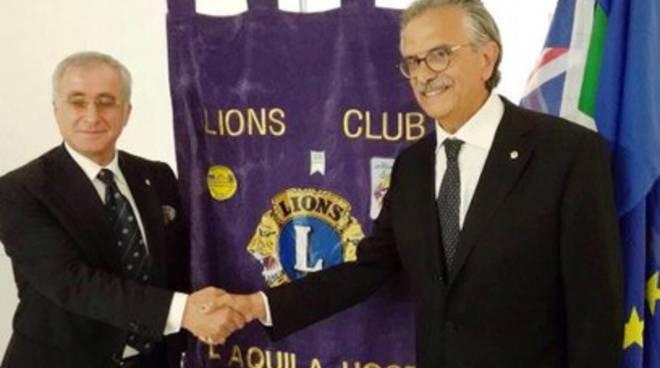 Lions club L'Aquila host, Mario Zordan presidente