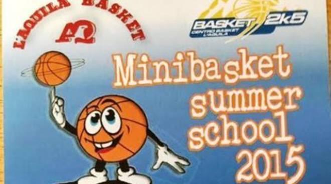 Minibasket Summer School, aperte le iscrizioni