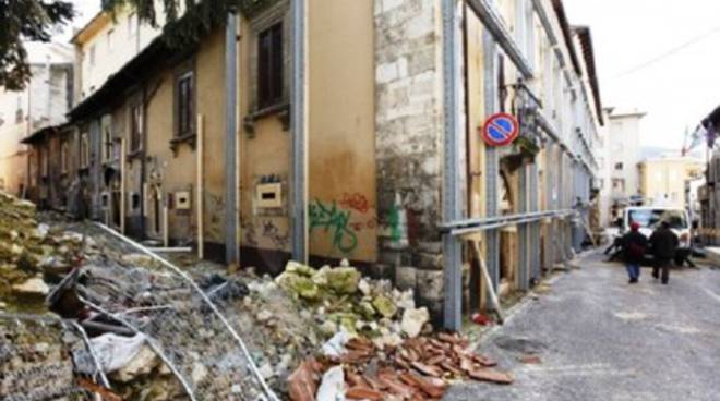 Ricostruzione centro storico, opere decorative e pittoriche
