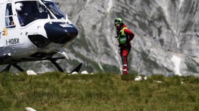 Salvataggio sul Gran Sasso, recuperati 2 escursionisti dispersi
