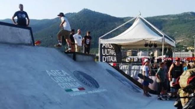 Area Ultras d'Italia, inaugurato lo Skatepark
