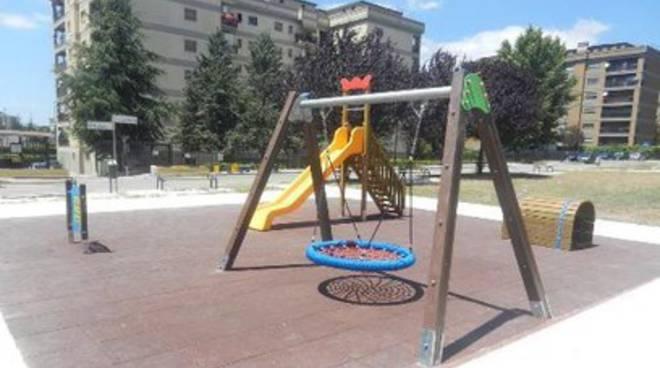 Avezzano, nuovo parco giochi per bambini