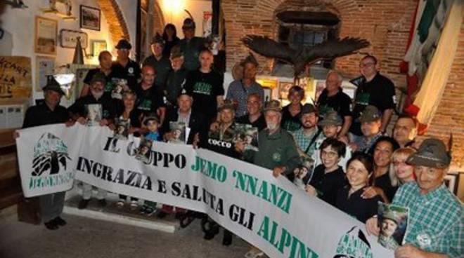 Cantina Jemo 'nnanzi ospita alpino 'speciale'