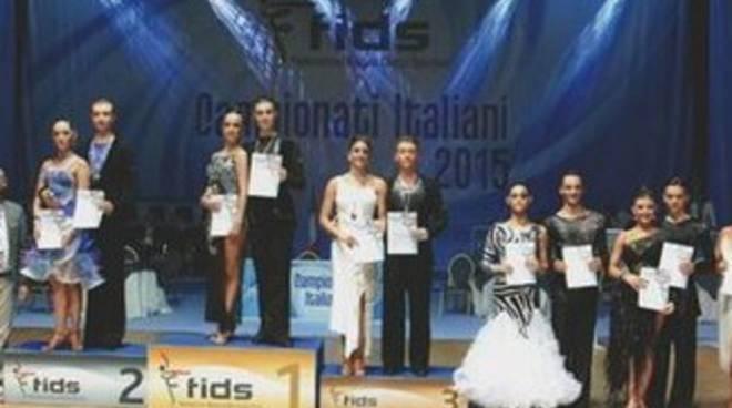 Danza sportiva, medaglie d'oro per L'Aquila