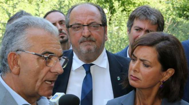 Discarica Bussi: Laura Boldrini in Val Pescara