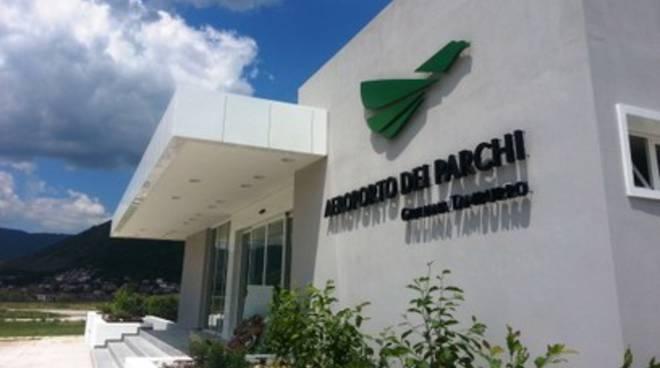 L'Aeroporto dei Parchi 'culla' dei servizi di soccorso per altri 3 anni