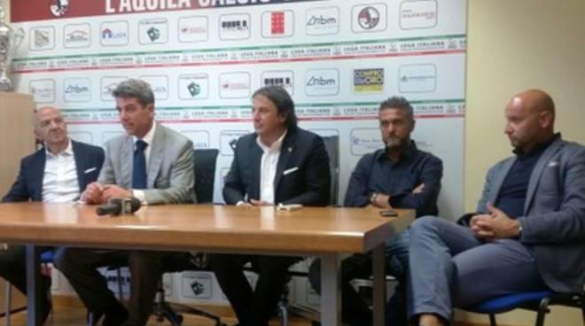 L'Aquila Calcio: Chiodi e Battisti fanno il punto