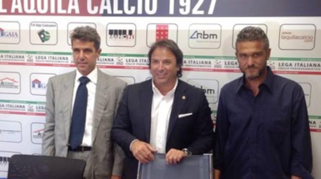 L'Aquila Calcio, Perrone: «Desideravo allenare L'Aquila»