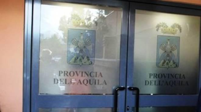 L'Aquila: «Nessuno stallo in Provincia»