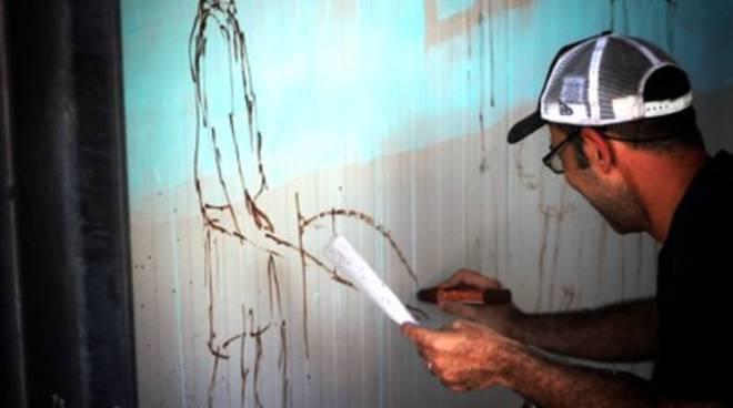 L'Aquila: un murale la 'lega' ai ragazzi curdi uccisi