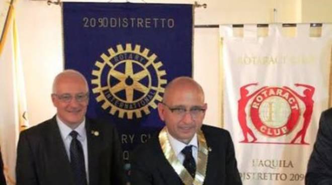 Luca Bruno nuovo presidente del Rotary Club L'Aquila