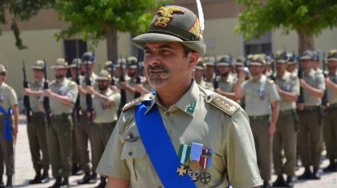 Nono Reggimento Alpini, Antonio Sedia nuovo comandante