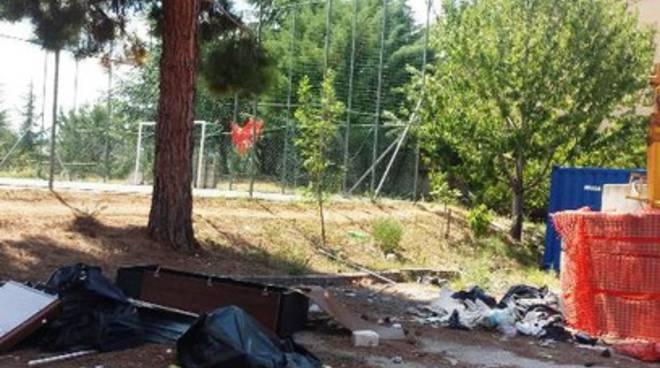 «Parco di Pettino in condizioni deplorevoli»