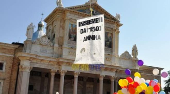 Si festeggia il pellegrino al Santuario di San Gabriele