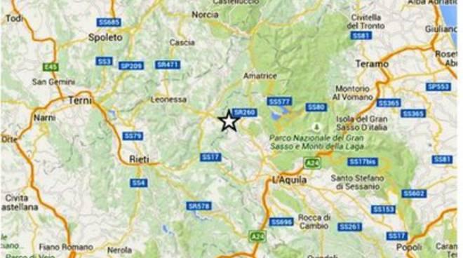 Terremoti, scossa 2.2 a Cagnano