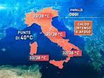 Troppo caldo: notti 'tropicali' in Abruzzo