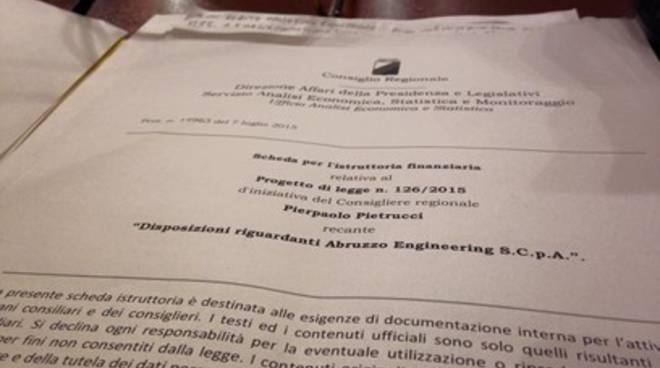 Una notte per salvare Abruzzo Engineering