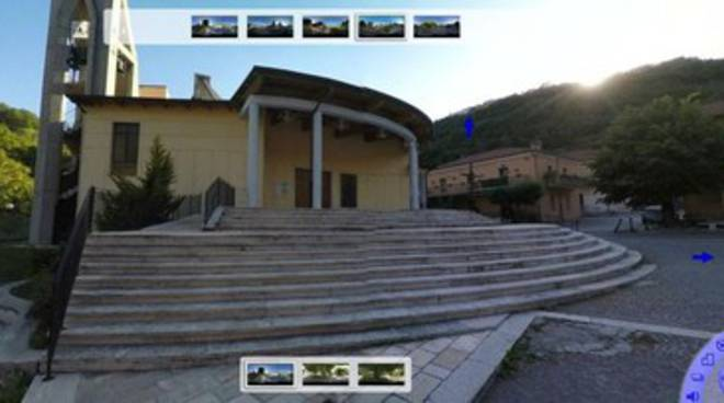 Virtual tour a Canistro grazie 'You Can Go'