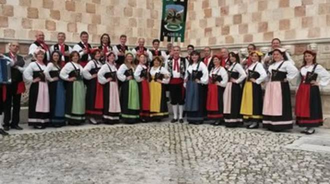 Corale Gran Sasso in Svezia per l'Europeade del Folklore