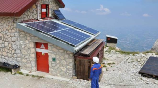 Energia verde sul Gran Sasso