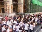 Il Flash Mob delle Mamme Aquilane