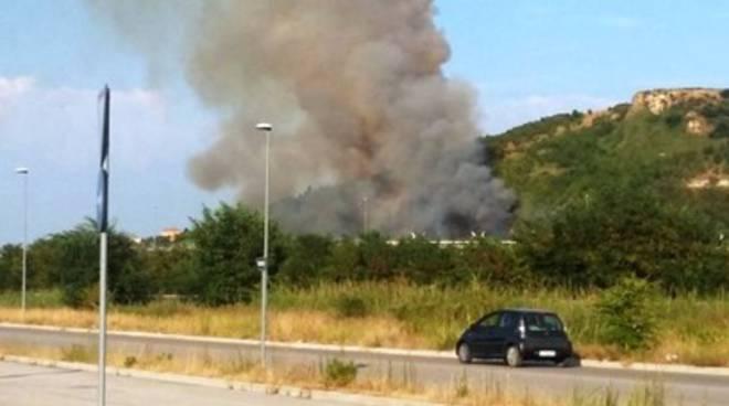 Incendio sulla Teramo-Mare, vegetazione KO
