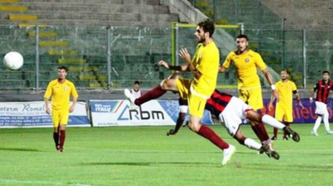 L'Aquila Calcio, Tim Cup: ottimo 2-0 con l'Arezzo